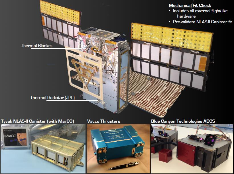 JPL MarCO CubeSat Thruster