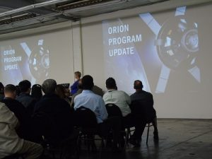 NASA Orion Update at VACCO